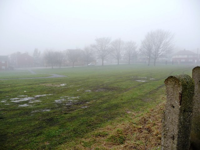Open ground between Park Hill Lane and Brunswick Street