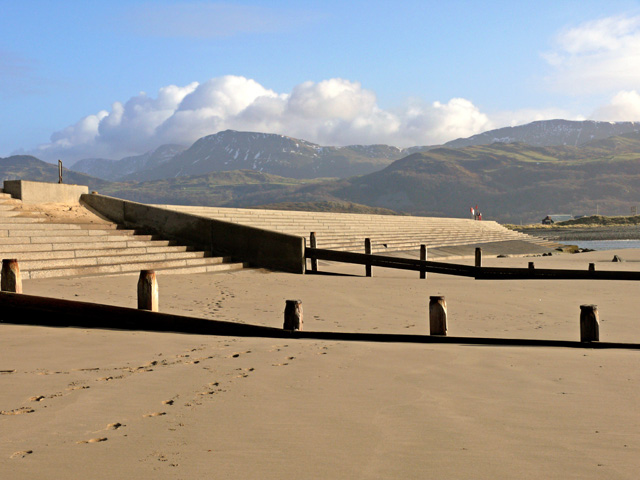 Barmouth breakwater