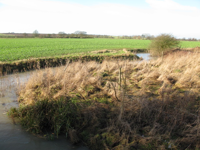 The East Stour River to the West of the Smeeth road