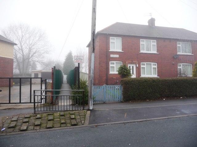 School footpath, Shepley Street, Eastmoor