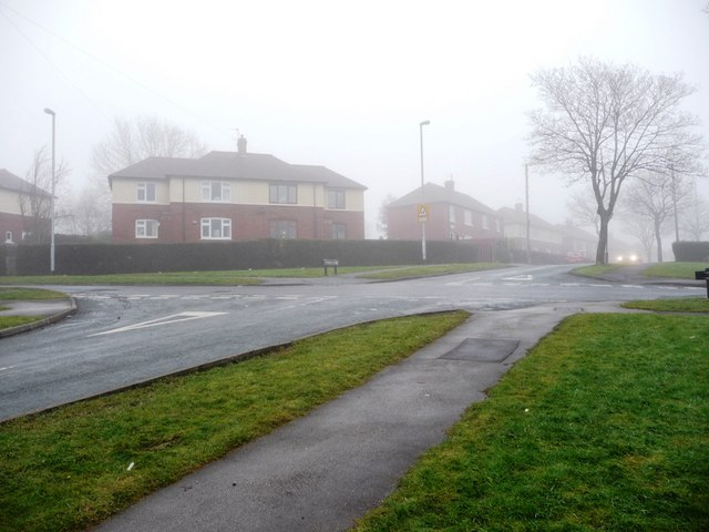 Junction of Shepley Street and Greenwood Road, Eastmoor