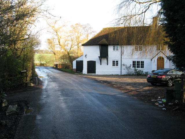 Evegate Mill on the Aldington to Smeeth road