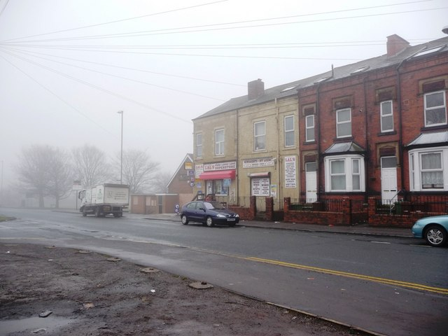 Corner shop, Park Lodge Lane