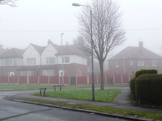 Junction of Shepley Street and Stanley Street, Eastmoor