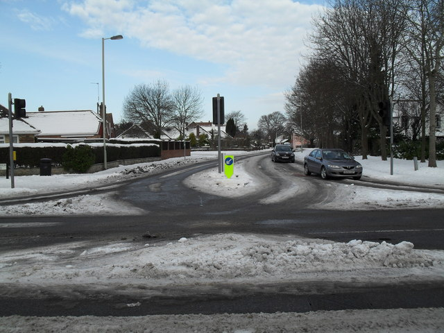 Looking from Emsworth Road across into Southleigh Road