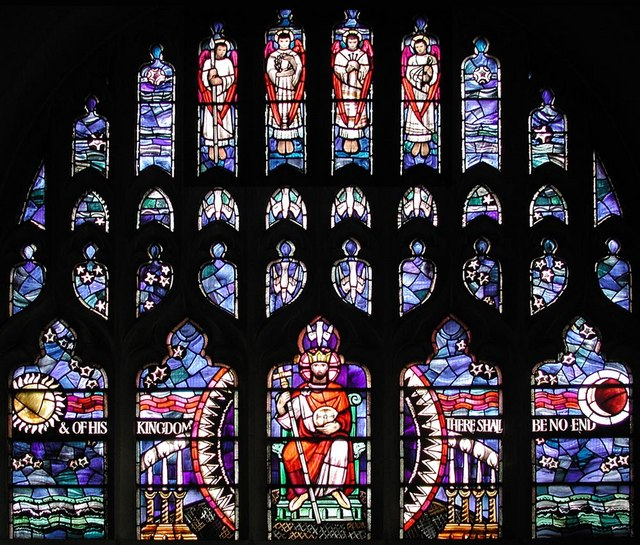St Barnabas, The Fairway - East window