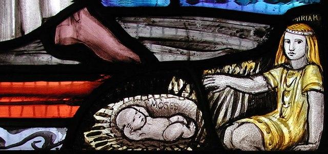 St Barnabas, The Fairway - Window detail