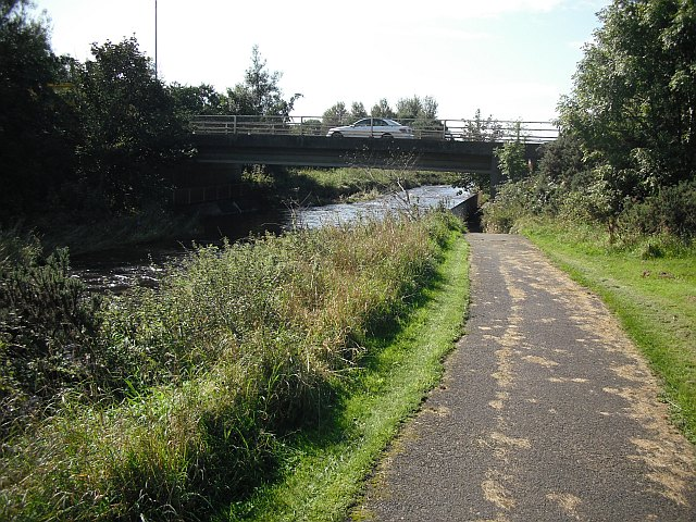 A71 crossing the Annick Water