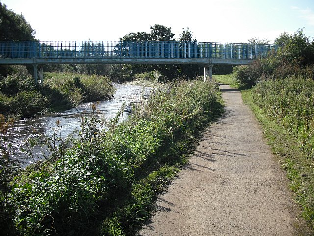 Footbridge, Annick Water