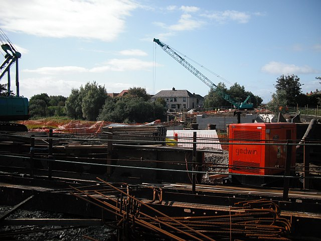 Bridge construction, Irvine
