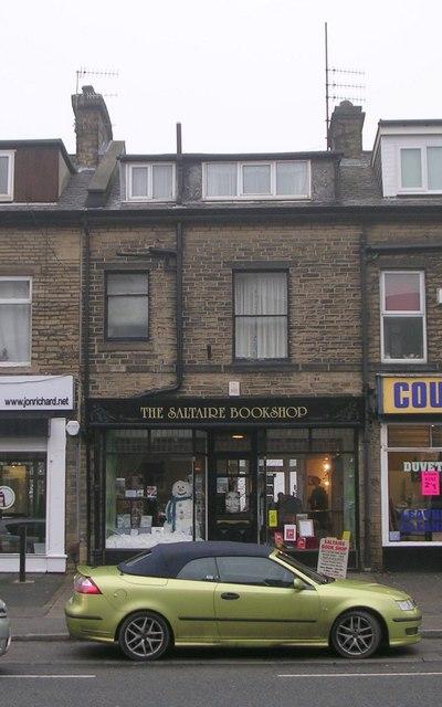 The Saltaire Bookshop - Bingley Road