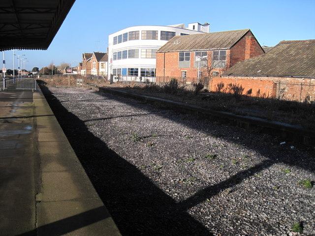 Disused Siding Taunton Station