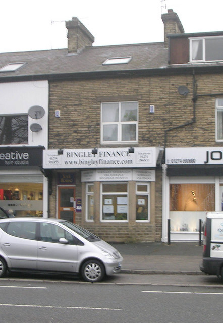 Bingley Finance - Bingley Road