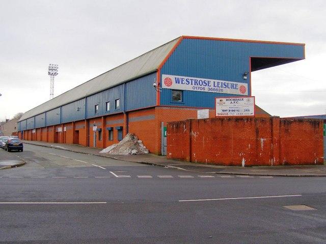 Willbutts Lane - Spotland Stadium