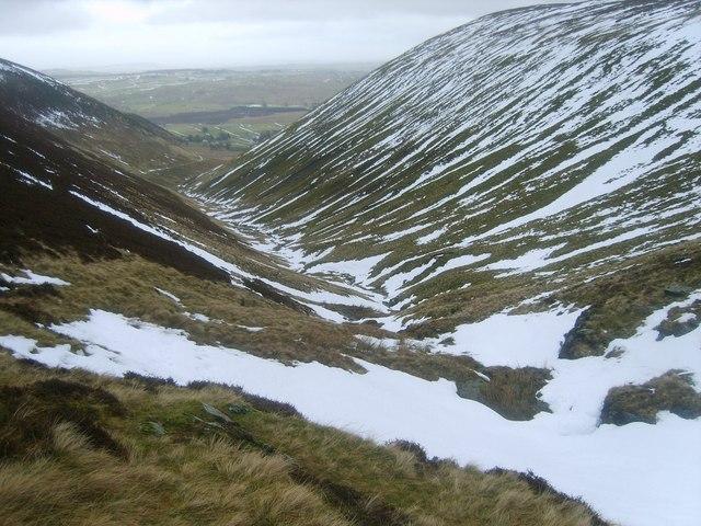 Valley of Bullfell Beck