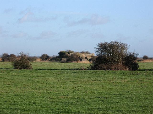 Remains of RAF Pevensey Chain Home Radar Station