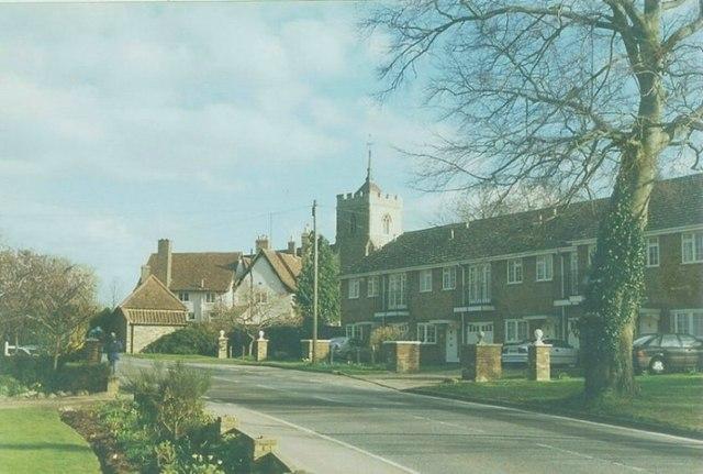 High Street, Roydon in 1997