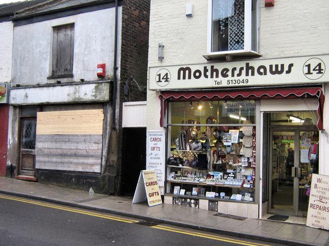 Mothershaws on the High Street