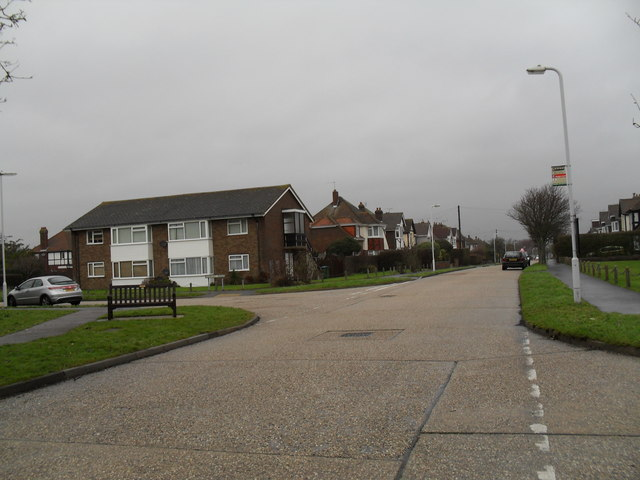 Bus stop in Harsfold Road