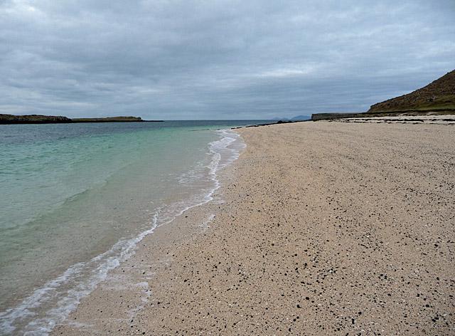 Maerl beach on Loch Dunvegan