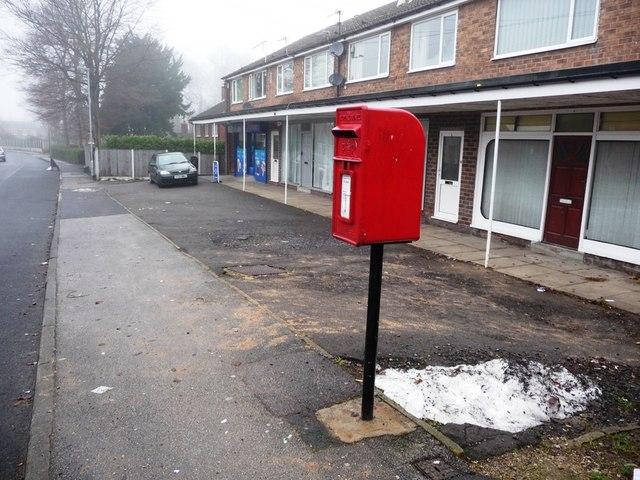 Postbox on Ashdene Approach