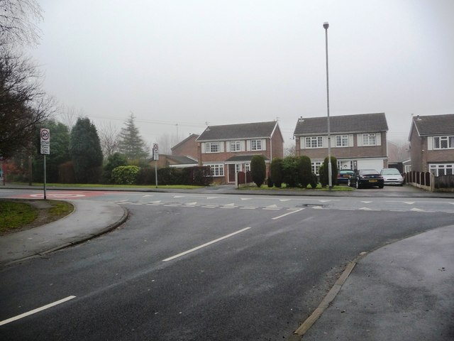 Junction of Ashdene Approach and Harrison Road