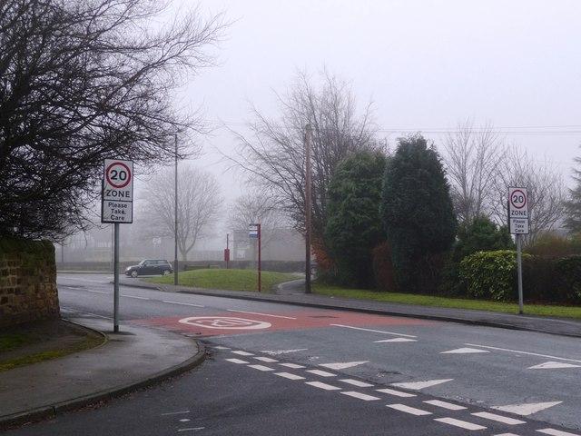 20 mph speed limit, Harrison Road