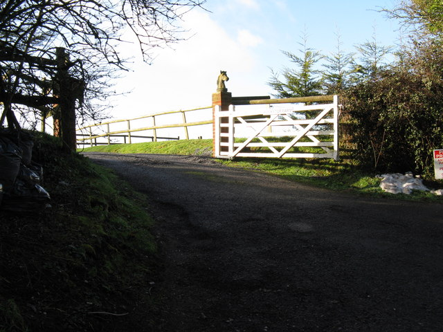 Entrance to Rockytop Farm
