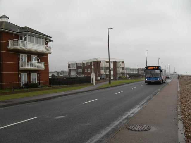 Number nine bus in Sea Road