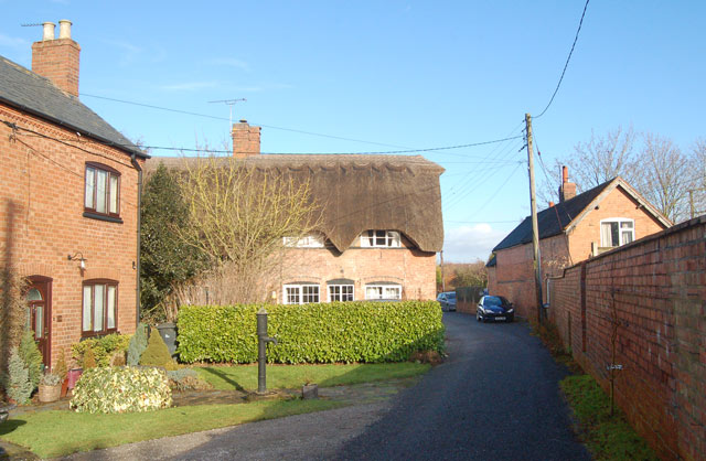 Looking north along High Street, Marton