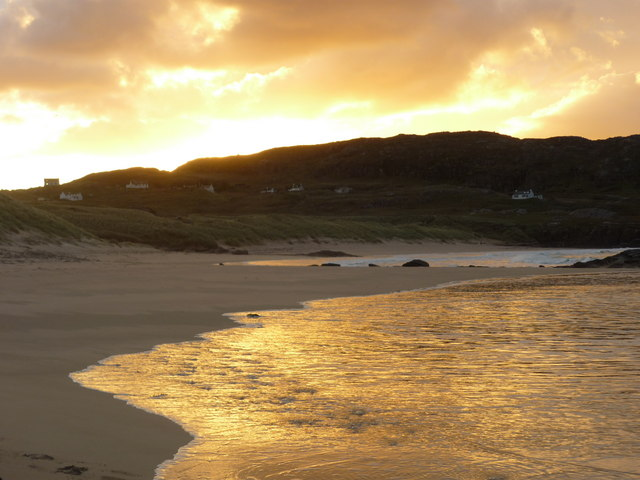 Oldshoremore Beach at Dawn