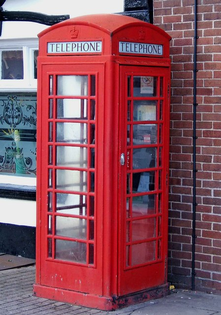 Telephone box, King Street