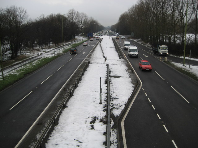 A414 North Orbital Road at Colney Heath (1)
