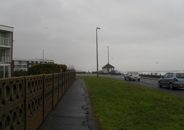 A dull January day in Sea Road