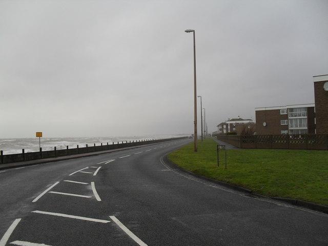Boundary of  Sea Road and Sea Lane