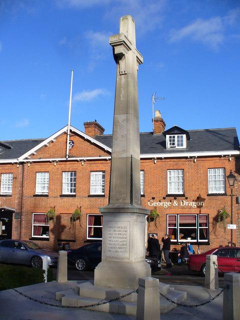 Marlow War Memorial