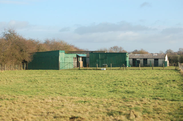 Sheds and loose boxes, Marton Moor