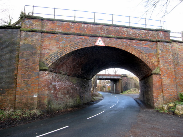 Two railway bridges at Mickle Trafford - 2