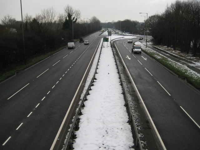 A414 North Orbital Road at Colney Heath (2)