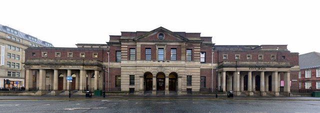 Northumberland Baths, City Pool and City Hall, Northumberland Road