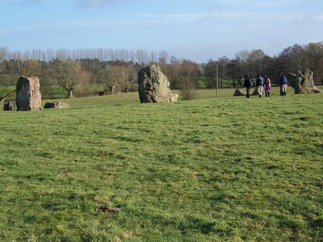 Stones at Stanton Drew