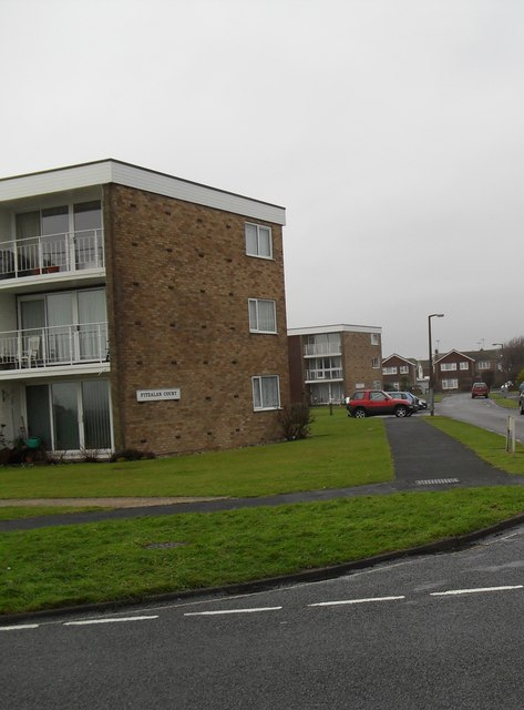 Fitzalan Court at the junction of Sea Lane and Chanctonbury Close