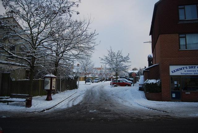 Icy Camden Rd Car Park