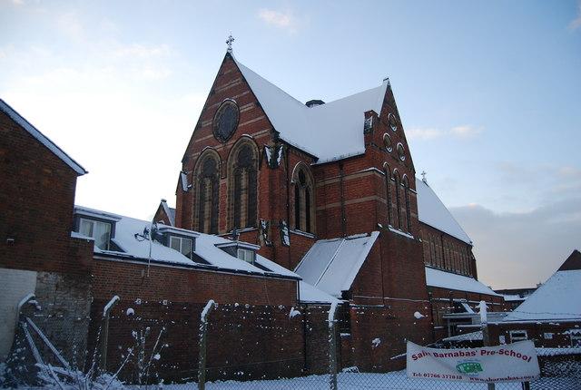 St Barnabas Church, Stanley Rd