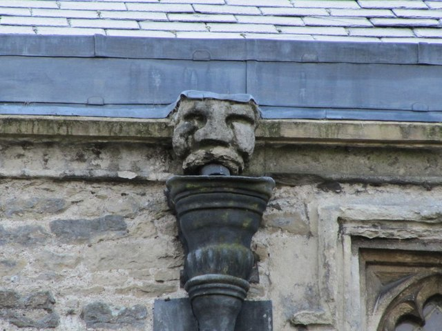 Gargoyle on the roof