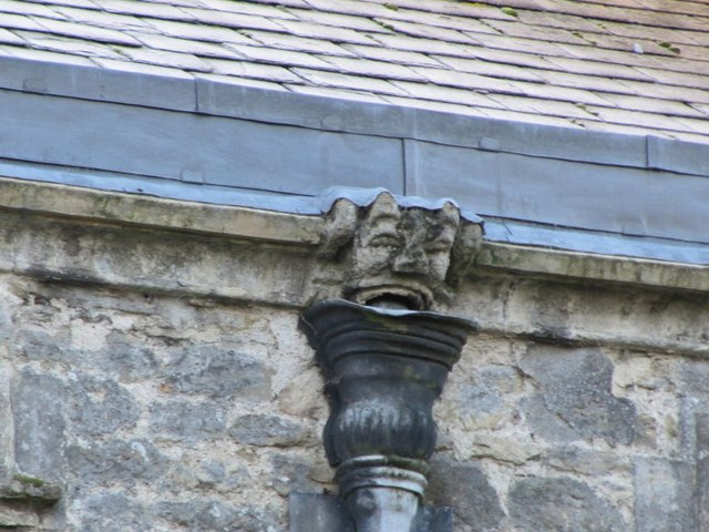 Gargoyle on the roof  2