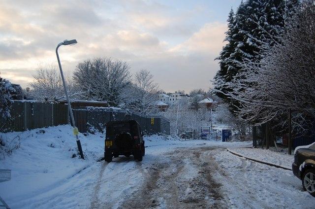 Snow, Medway Rd