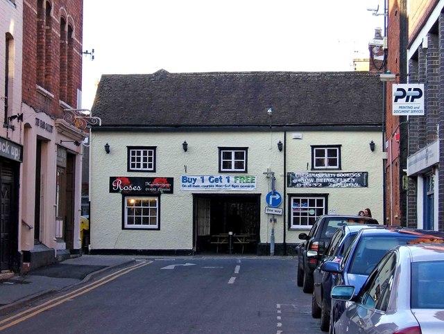Junction of Aubrey Street and West Street