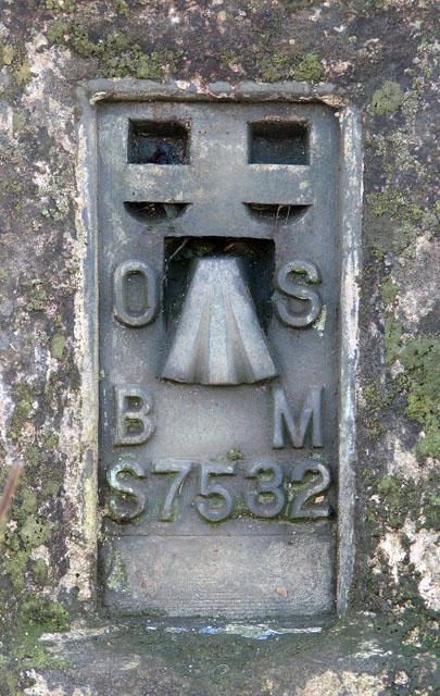Triangulation pillar by Drymere (detail)