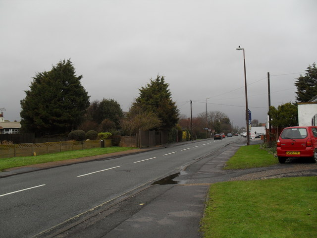 A dull January day in Sea Lane